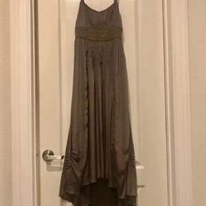 💕H&M Brown Long Formal Dress💕